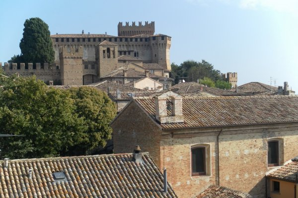 Gradara, the Middle Ages overlooking the sea