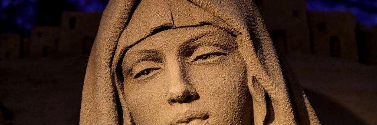 PRESEPE DI SABBIA A BELLARIA IGEA MARINA: LA TRADIZIONE PROSEGUE