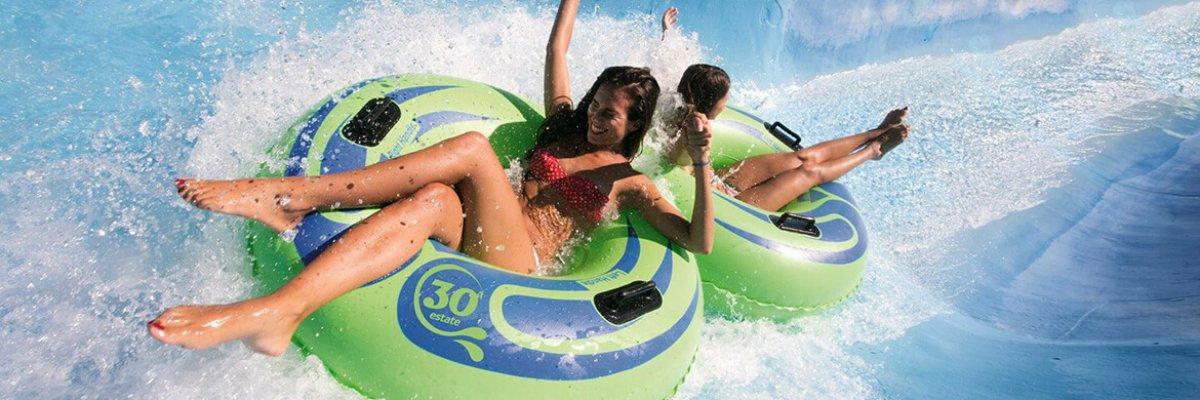 Aquafan, sicuramente il parco piu' cool d'europa!