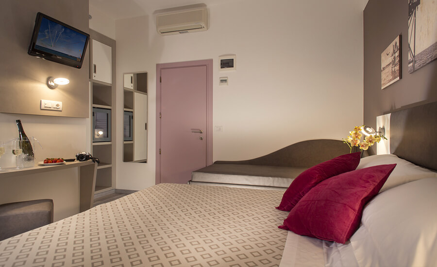 Camere con aria condizionata Bellaria Igea Marina Hotel Marcus